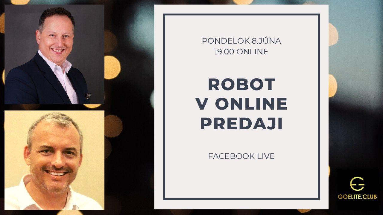 Robot vonline predaji