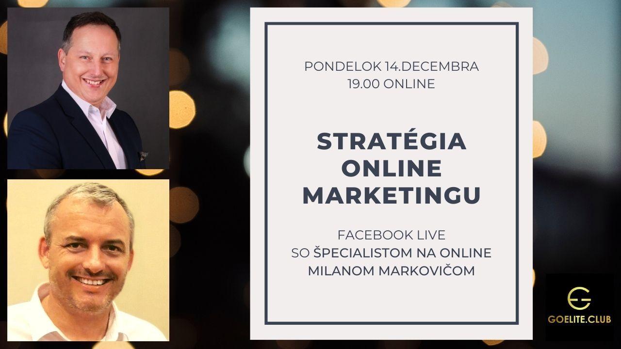 Stratégia online marketingu